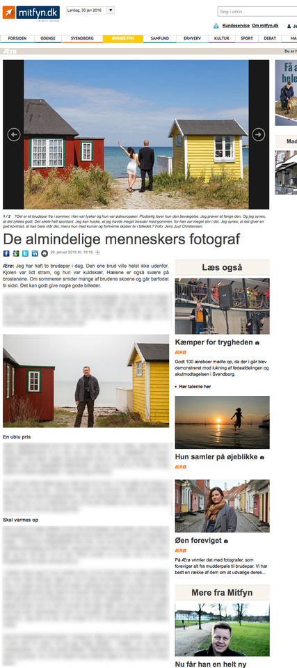 Aeroe Photo mentioned in the Fyens newspaper