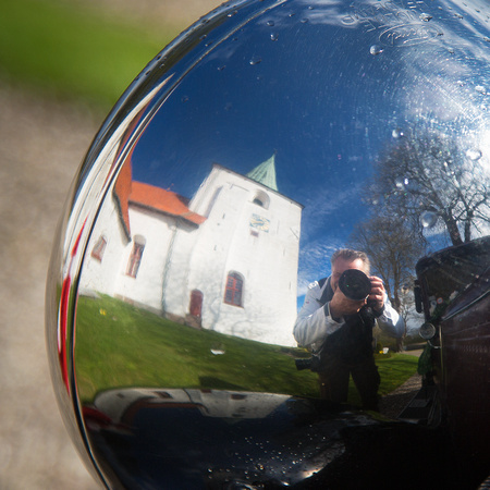 Ford-A-selfie from todays church wedding on the island Ærø.