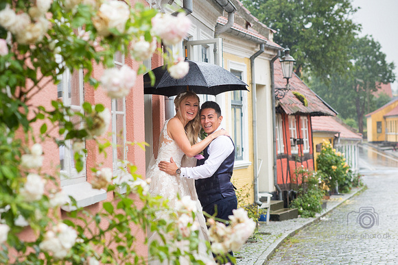 Todays constant heavy rain could not stop their happiness and we managed to still get the photos they wanted.